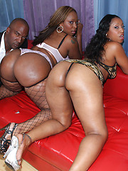 Negro man gets to fuck big fat wet booty