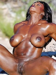 Hot black meat