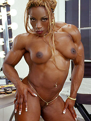Muscle black females